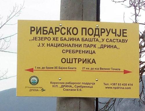 Obelježavanje granica ribarskog područja
