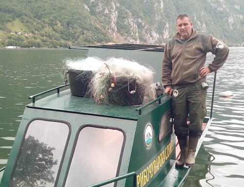Заплена мрежног алата од рибокрадица